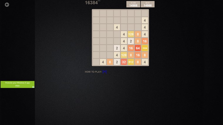 2048 Collection: 12 Game Boards screen shot 6