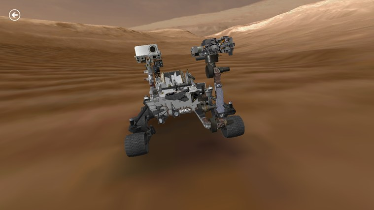Mars Rover: Curiosity screen shot 0