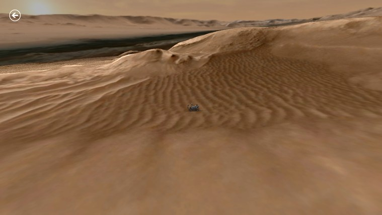 Mars Rover: Curiosity screen shot 2