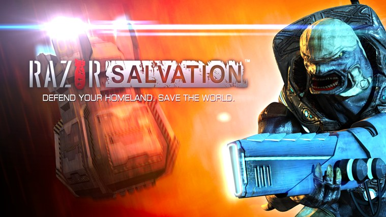 Razor Salvation screen shot 0
