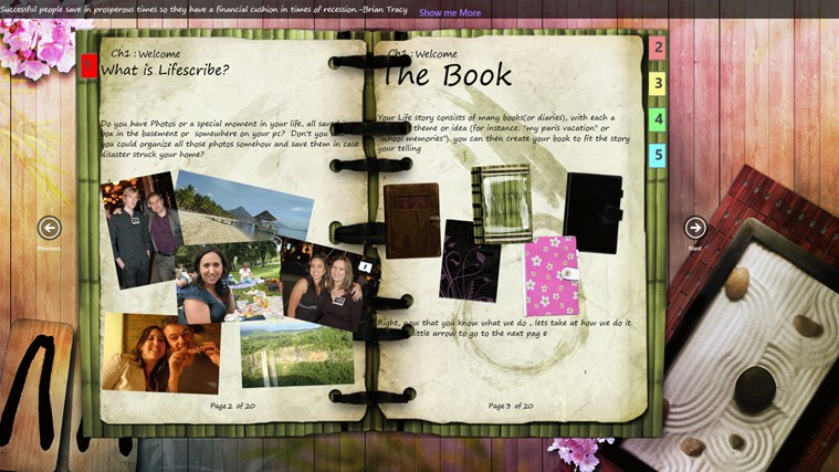 Journal screen shot 0