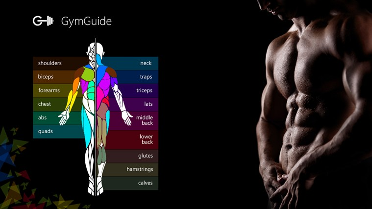 Gym Guide screen shot 0