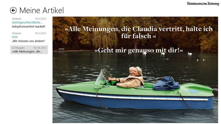 Süddeutsche Zeitung Digital Screenshot 4
