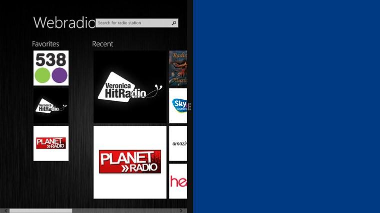 Webradio schermafbeelding 2