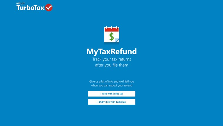 MyTaxRefund screen shot 0