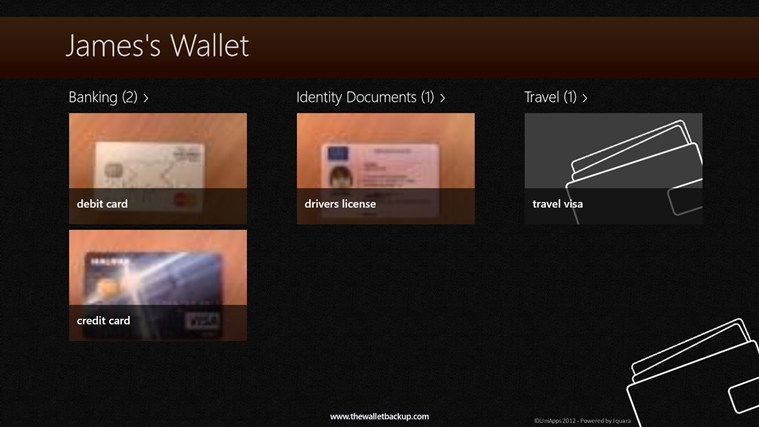 Wallet Backup Free screenshot 0