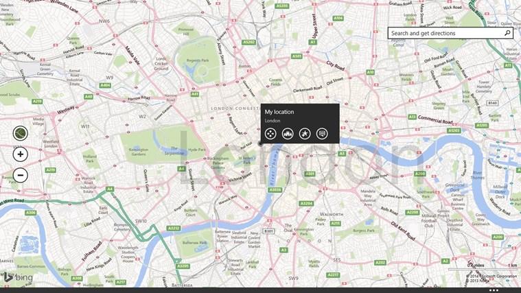 Maps screen shot 0