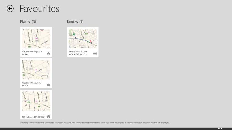 Maps screen shot 6