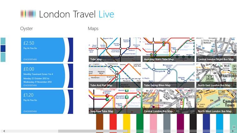 London Travel Live screen shot 2