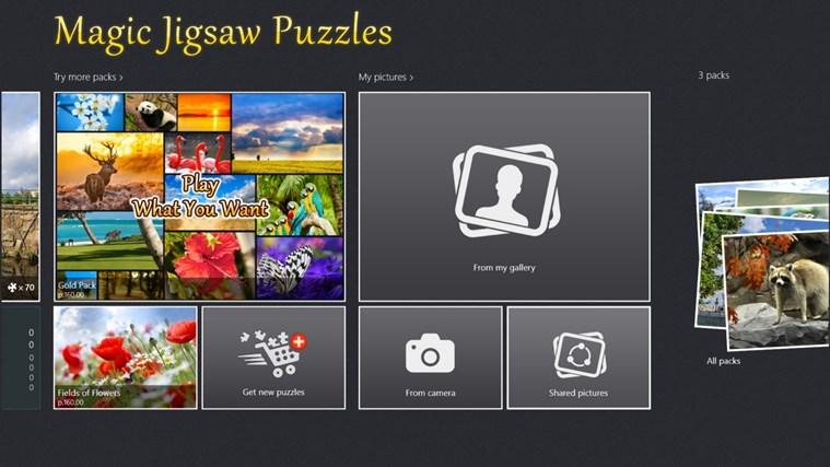 Magic Jigsaw Puzzles screen shot 0