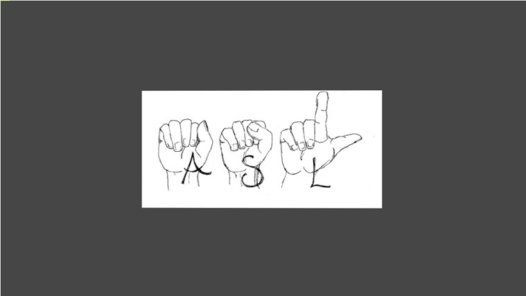 American Sign Language_ASL screen shot 0