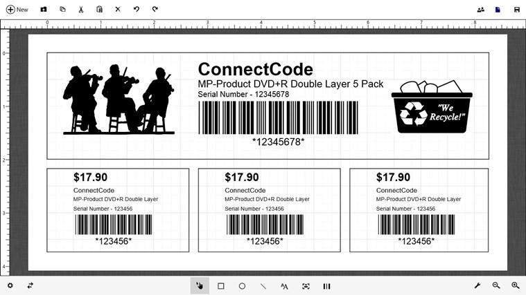 Barcode & Label petikan skrin 0
