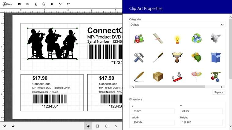 Barcode & Label petikan skrin 4