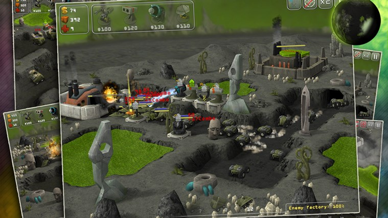 Total Defense 3D screen shot 4