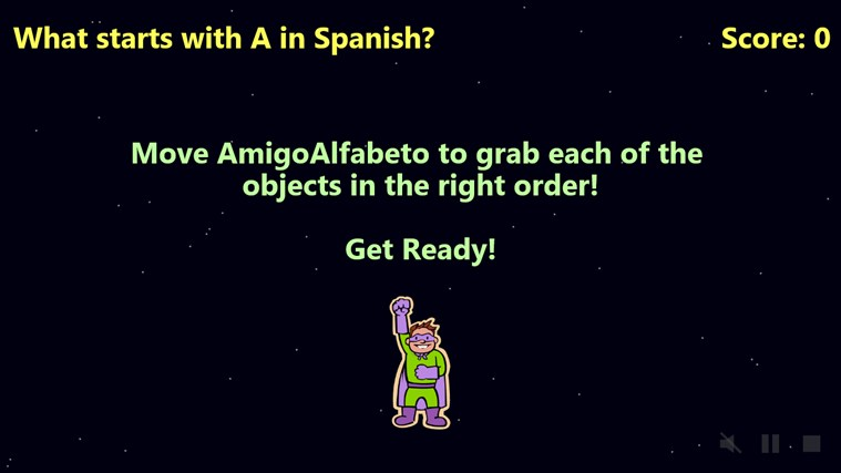 AmigoAlfabeto screen shot 2