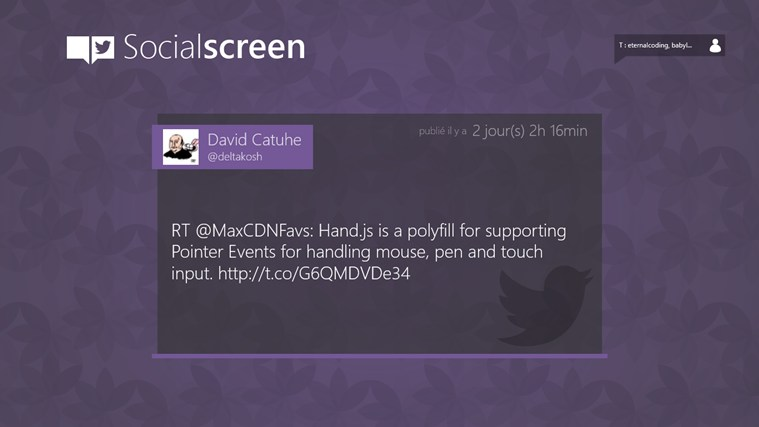 Social screen capture d'écran 0