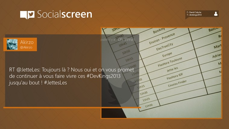 Social screen capture d'écran 2