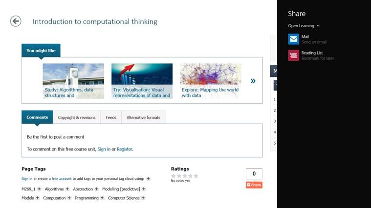 OpenLearn from Open University (beta) screen shot 4
