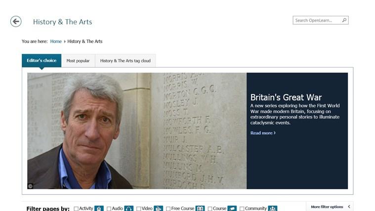 OpenLearn from Open University (beta) screen shot 6