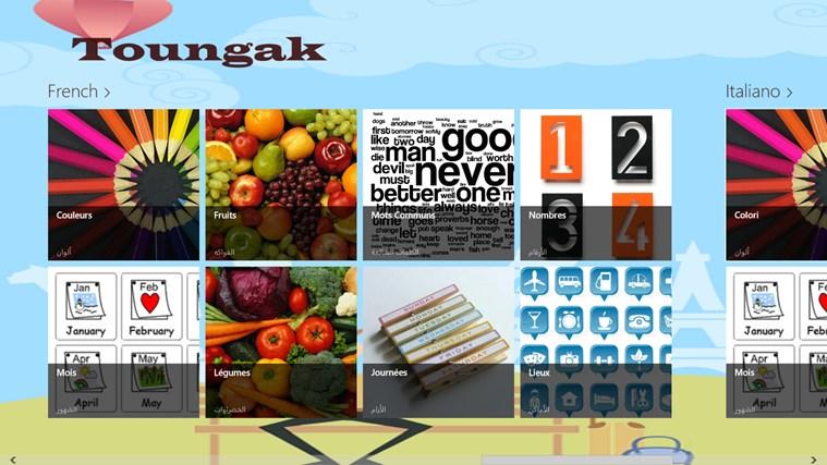 Toungak capture d'écran 2