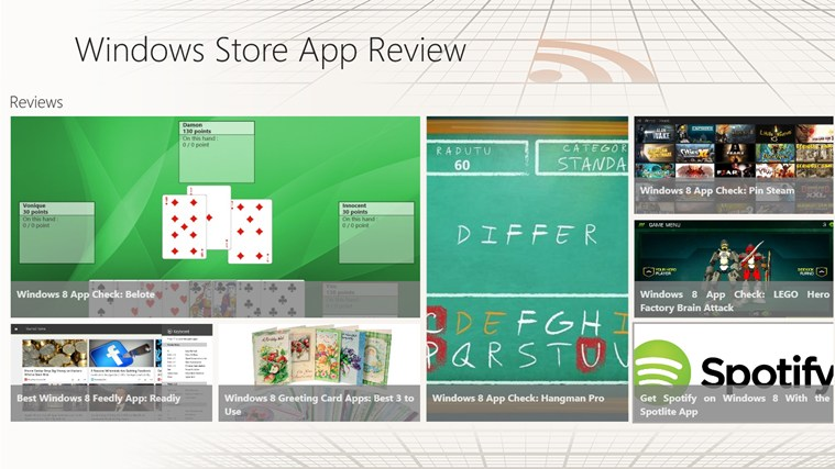 Windows Store App Review screen shot 0