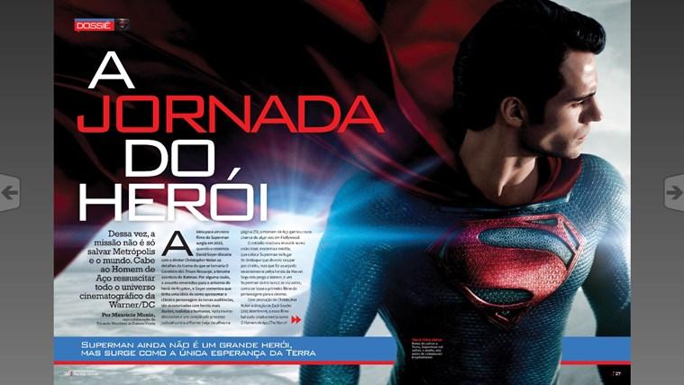 Revista Mundo dos Super-Heróis captura de pantalla 2
