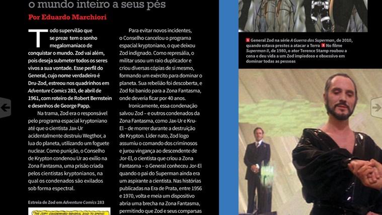 Revista Mundo dos Super-Heróis captura de pantalla 4