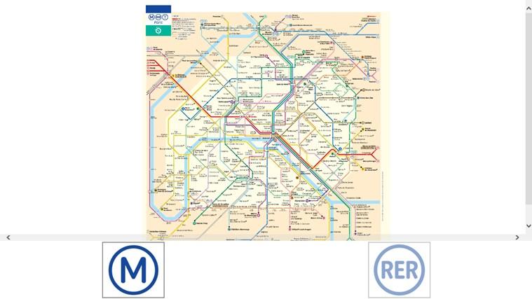 Plan Des Transports Parisien capture d'écran 0