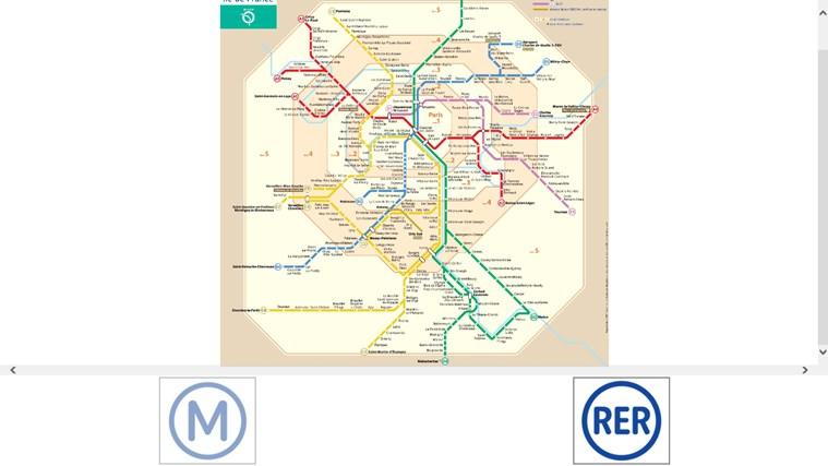 Plan Des Transports Parisien capture d'écran 2