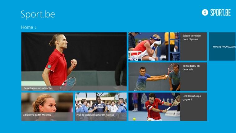 Sportbe capture d'écran 0