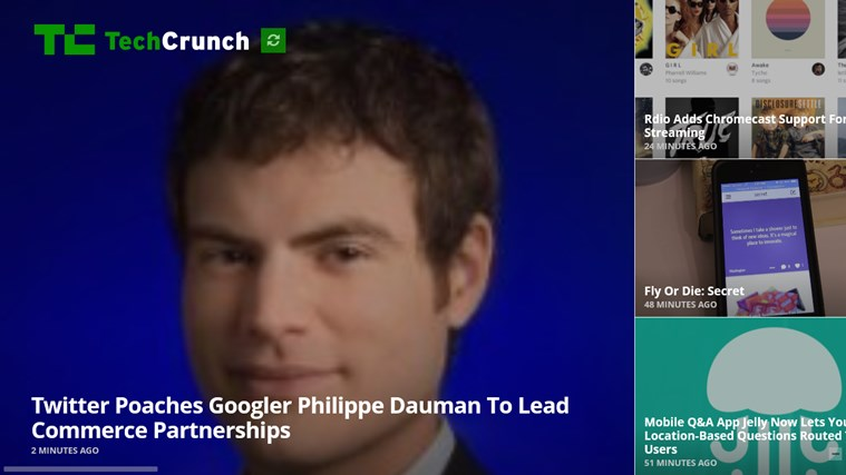 TechCrunch - The Inside Story On Innovation screen shot 0