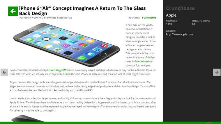 TechCrunch - The Inside Story On Innovation screen shot 4
