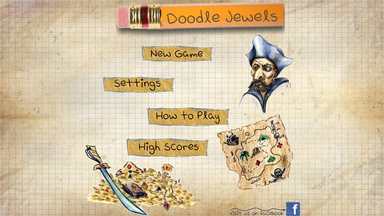 Doodle Jewels Lite screen shot 2