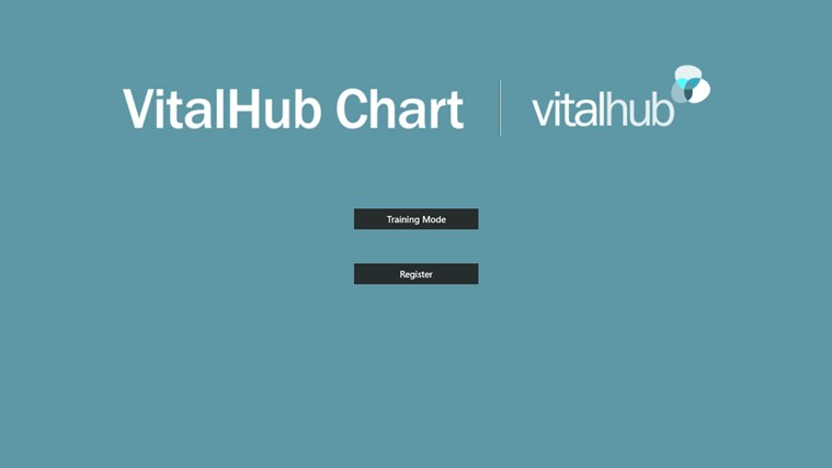 VitalHub Chart screen shot 0