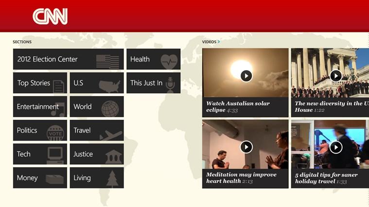 CNN App for Windows captura de tela 2