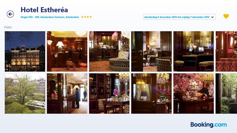 Booking.com schermafbeelding 4