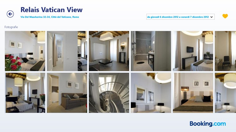Booking.com cattura di schermata 4