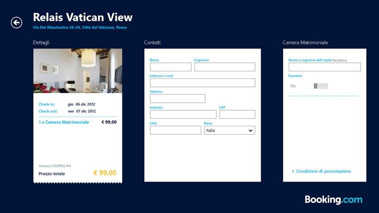 Booking.com cattura di schermata 6
