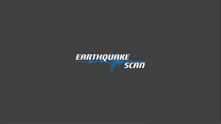 Earthquake Scan screen shot 0
