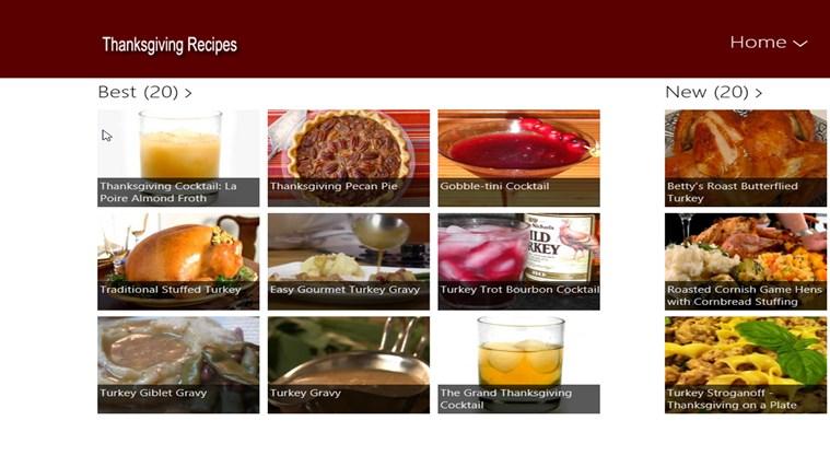 Thanksgiving Food screen shot 0