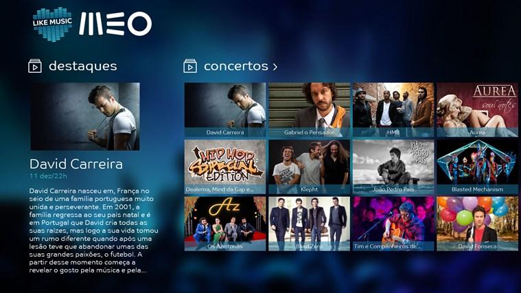 MEO Like Music captura de ecrã 0