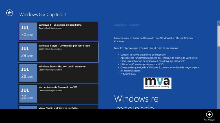 Desarrollo de Aplicaciones screen shot 2