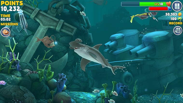 Hungry Shark Evolution screen shot 2