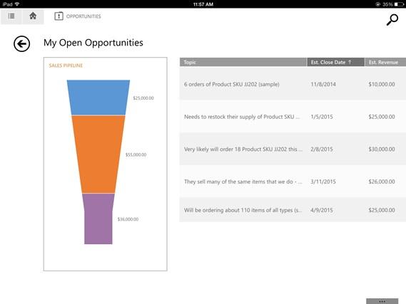 Microsoft Dynamics CRM screen shot 0