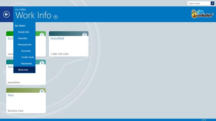 eWallet screen shot 4