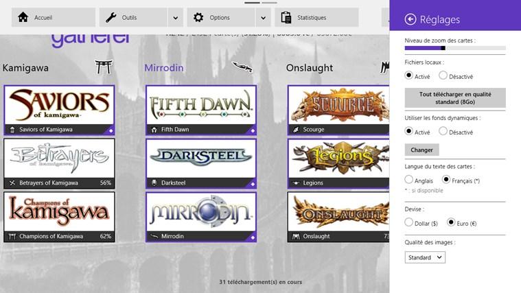 UrzaGatherer capture d'écran 6