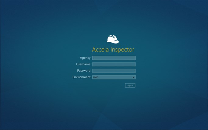 Accela Inspector screen shot 0