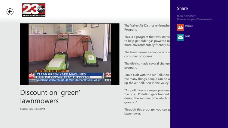 23ABC News - Bakersfield screen shot 2