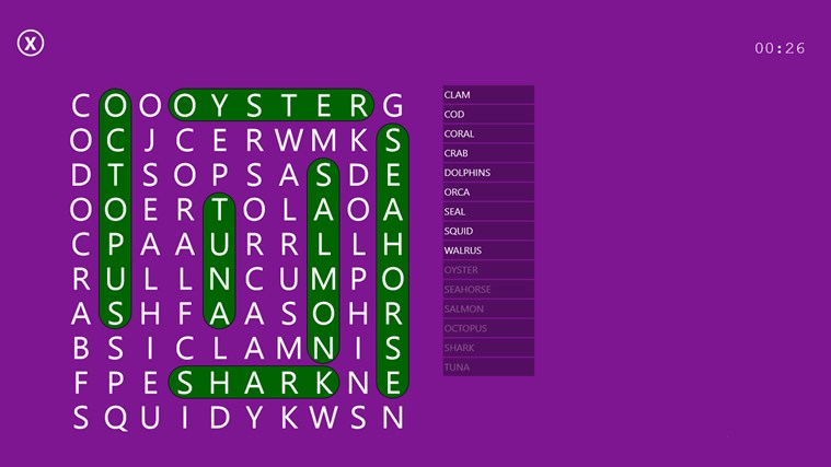 Word Search Party screen shot 4