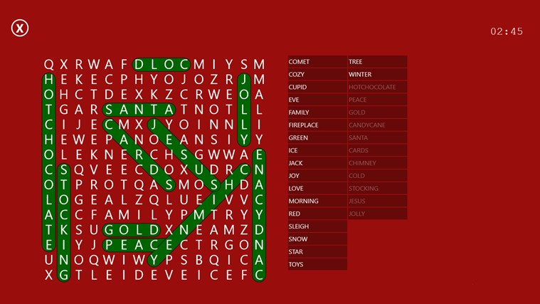 Word Search Party screen shot 6